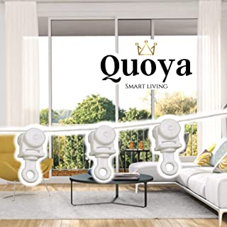 Quoya Smart Curtain Track- All Accessories (Wave Curtain Set)