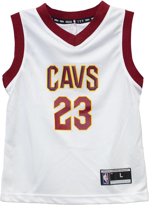 Amazon.com : Outerstuff Lebron James Cleveland Cavaliers White ...