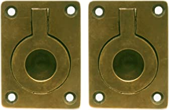 Nesha Antique Style Recessed Ring Pulls 2 Pack