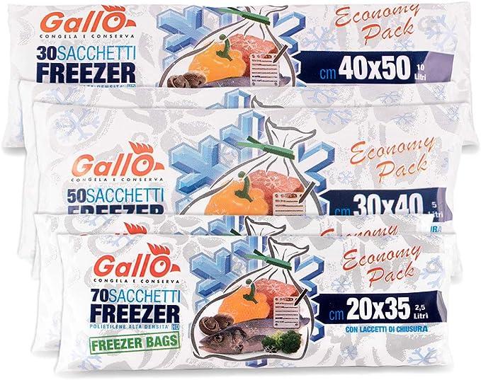 104 opinioni per Gallo 270 Sacchetti Freezer Vari