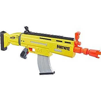 Nerf fortnite SP-L Blaster con canna staccabile e 6 ufficiali fortnite Elite