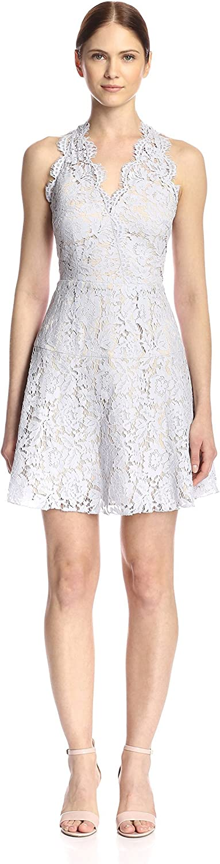 Aijek Women's Lace Halter Dress