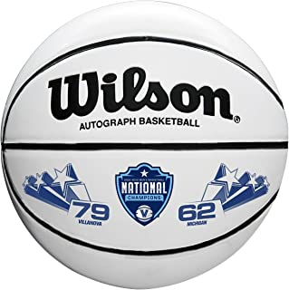 Wilson Sporting Goods WTB0503IDCHP18A NCAA National Championship basketballs, Brown/White, Mini