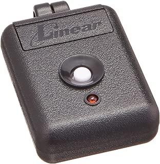 Linear DNT00026 Delta-3 Miniature 1-Channel Key Ring Transmitter, Black/White