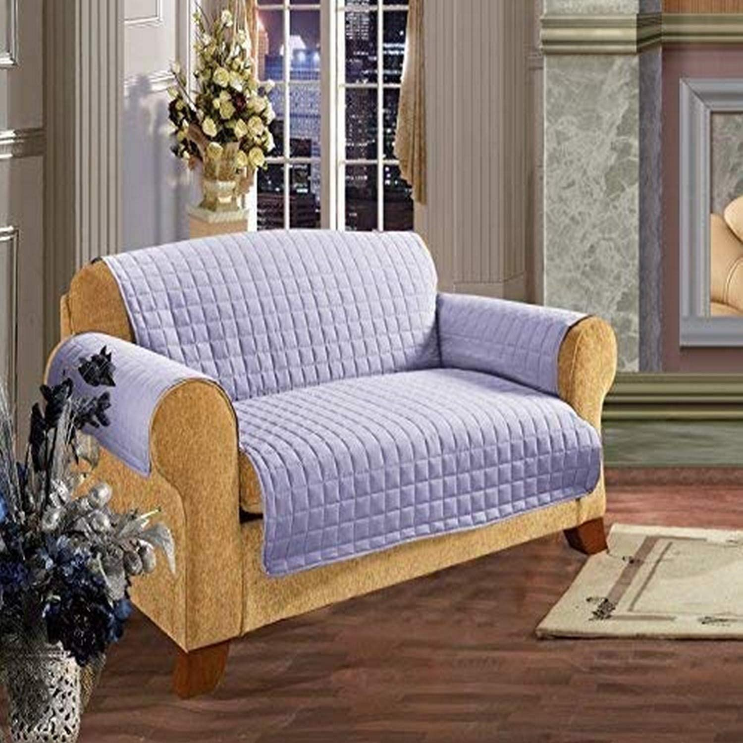 Tulsa Mall Elegance Linen Now free shipping Quilted Pet Dog Kids Furniture Children Protector