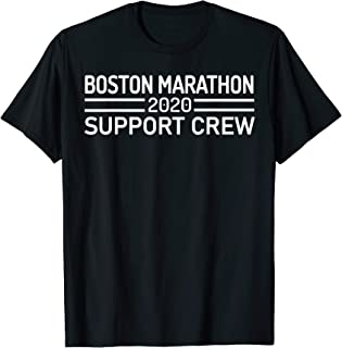 Boston 26.2 Marathon 2020 Support Crew T-Shirt