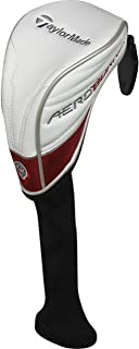 TaylorMade Aero Burner TP Fairway Wood Headcover White/Red/Grey
