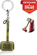 EPIC Goods Thor Style Hammer Keychain and Bottle Opener (Gold)