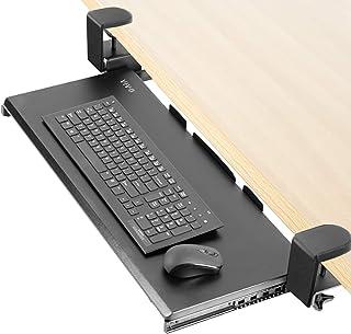 حامل لوحة مفاتيح وماوس بمشبك إضافي من فيفو Keyboard tray - black