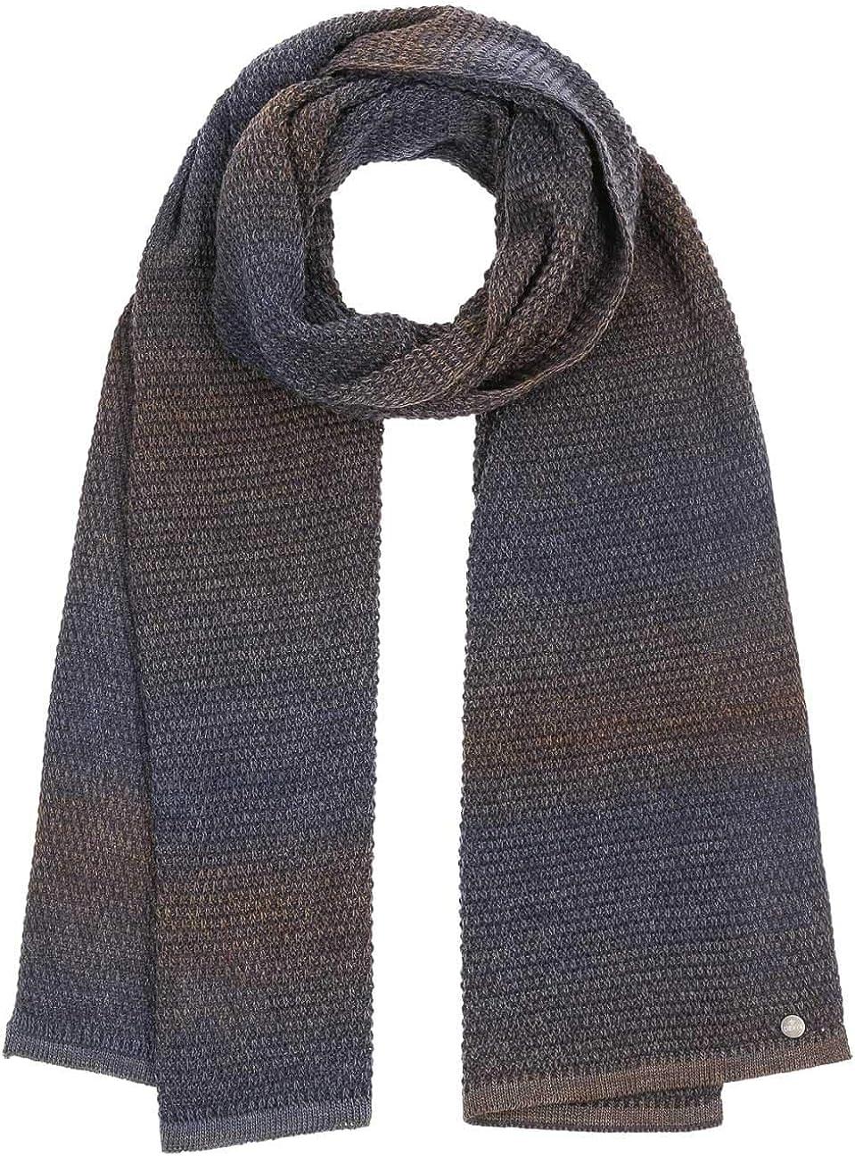 Lierys Carnell Knit Scarf Men - Made in Germany