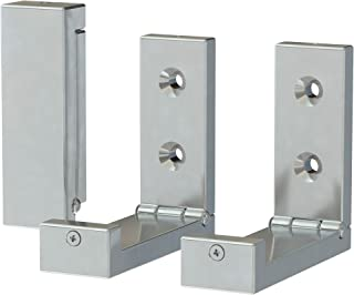 IKEA BJARNUM Folding hook, aluminum 6-pack
