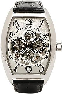 [ゾンネ] 腕時計 SONNE H015SS-BK シルバー ブラック [並行輸入品]