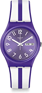 Swatch orologio NUORA GELSO Originals Gent 34mm Energy Boost viola GV701