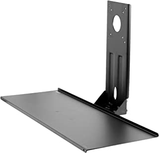 VIVO Computer Keyboard and Mouse Platform Tray VESA Mount Attachment 8 x 25.5 inch Surface (MOUNT-KB03)