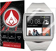 Ace Armor Shield Shatter Resistant Screen Protector for the HTC One Wear SmartWatch / Military Grade / High Definition / Maximum Screen Coverage / Supreme Touch Sensitivity /Dry or Wet Easy Installation with free lifetime replacement warranty