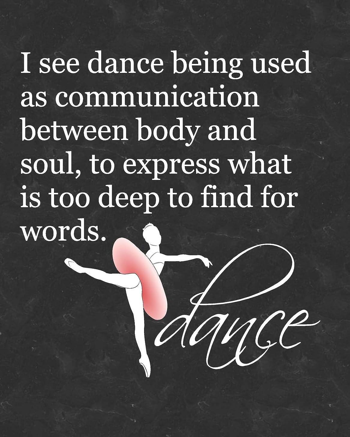 引退する実験的振るうBallet Attitude Dance Quote: 2019 Daily Planner for Dance Students and Teachers