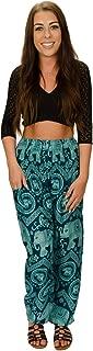Happy Trunks Harem Pants - S M L XL 2XL - Womens Plus Hippie Bohemian Yoga Elephant Beach Casual Pants
