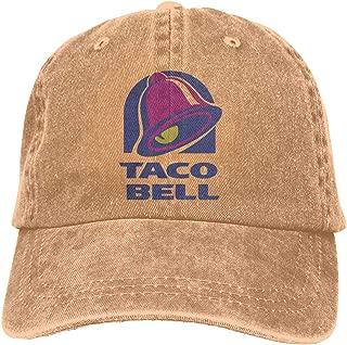 Taco Bell Retro Adjustable Cowboy Denim Hat Unisex Hip Hop Deep Heather Baseball Caps