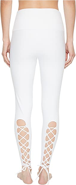 Bridal Laced-Up Leggings