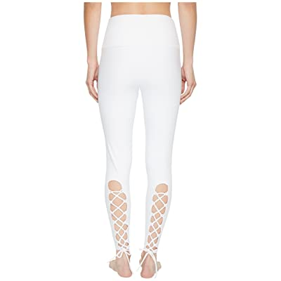 Onzie Bridal Laced-Up Leggings (White) Women
