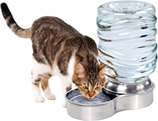 Waterer Stainless Steel Pet Dog Cat Water Fountain Bowl