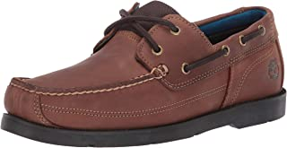 Men's Piper Cove Fg Boat Shoe, Medium Brown