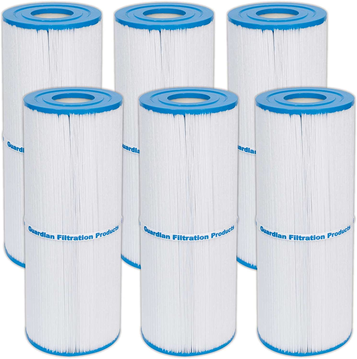 6 Guardian Pool Spa Max 62% OFF Filter Pleatco Award-winning store Unicel C-4950 Replaces Prb50-