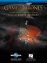 Game of Thrones Theme Arranged for Cello & Piano - Sheet Music Single