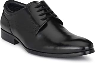 AvantHier Men's Genuine Leather Glossy Look Light Weight Official Formal Shoes for Men's/Boys