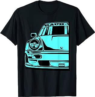 Automotive Apparel Retro German JDM Tuning Car Part 911 964 T-Shirt