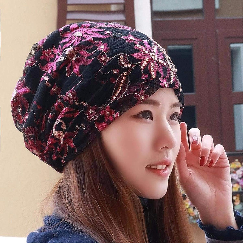 Chuiqingnet Hat the girl scarf cap lace cap bald cap storehouse cap, pregnant women cap Baotou hat spring and summer new