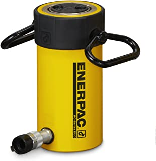 Enerpac RC-506 Single-Acting Alloy Steel Hydraulic Cylinder with 50 Ton Capacity, Single Port, 6.25