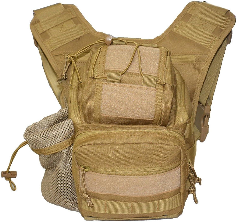 OXU Mens Multi Pockets Simple Adjustable Shoulder Strap Camera Bags