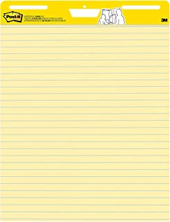 Post-it Super Sticky Easel Pad- 25 x30in, 30 Sheets, 2 Pads 561 (Yellow)
