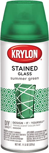 Stained Glass Paint 11.5oz, Summer Green