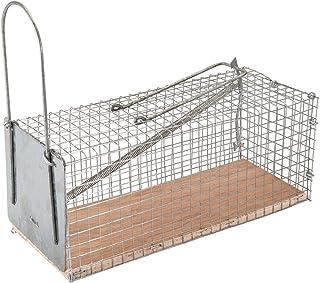 FIXMAN 197512 - Jaula para atrapar roedores (250 x 90 x 90