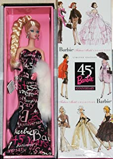 Mattel Silkstone 45th Anniversary Barbie - BFMC Collection