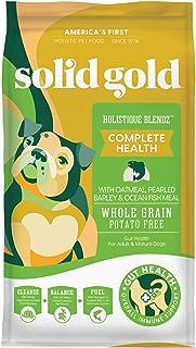 Solid Gold - Holistique Blendz - Natural Senior Dog Food for Sensitive Stomachs - Oatmeal, Pearled Barley and Fish Meal - ...