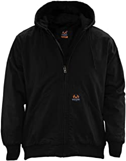 Staghorn Sherpa Canvas Hooded Jacket