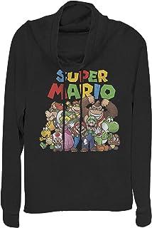 Nintendo Women's Women's Cowl Neck Sweater Shirt