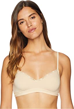 Soft Cotton V-Neck Bralette SFTCO1301