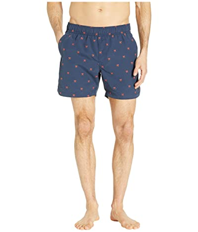 The North Face Class V 5 Pull-On Trunks (Urban Navy Hatchet Print) Men
