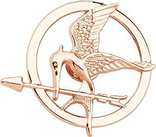 دبوس ألعاب الجوع FAADBUK بروش الطائر المقلد مجوهرات كاتنيس إيفردين دعامة دبوس شارة لمحبي الأفلام