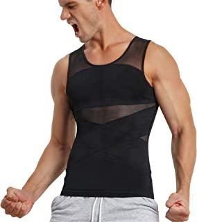 پیراهن فشرده سازی مردانه TAILONG برای جلیقه لاغری شکل دهنده بدن