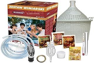 ZW15 Kit de démarrage pour la fabrication du vin, Cuve de fermentation de 15L