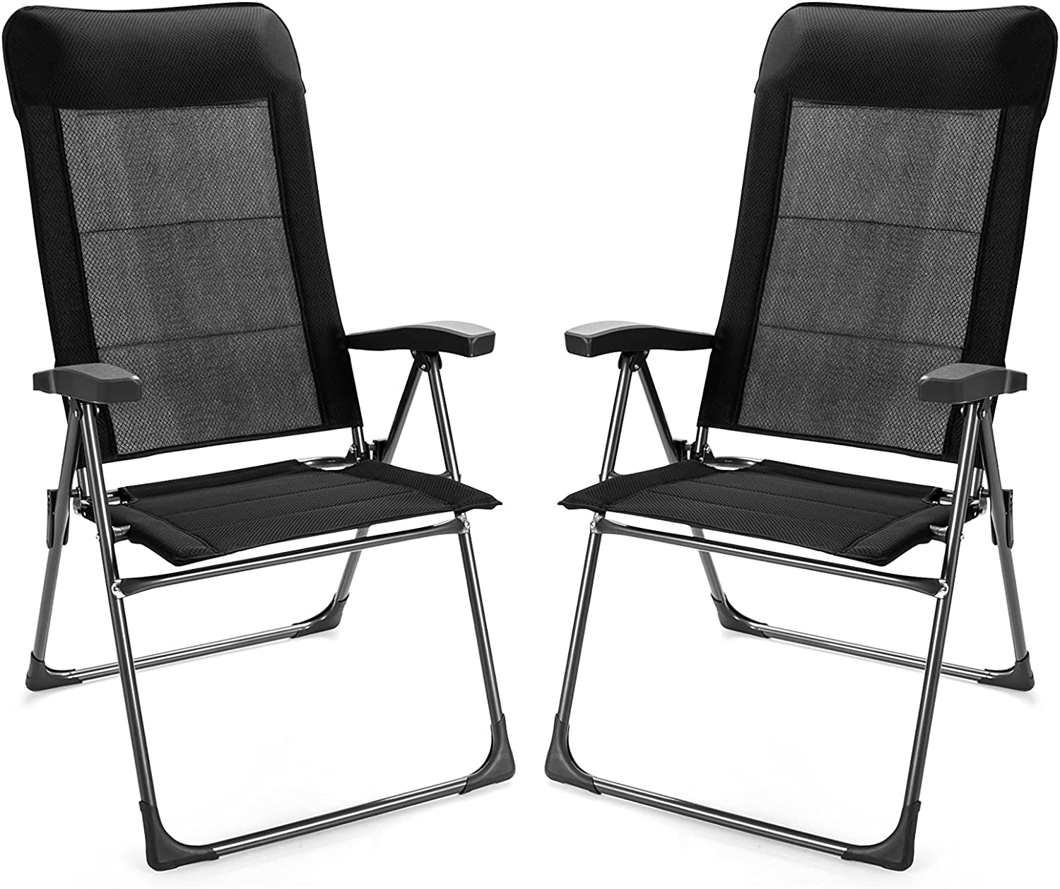 Giantex Set of 2 Max 74% OFF New color Patio Folding Outd Dining Chairs
