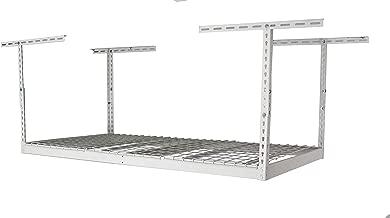 "SafeRacks – 3x6 Overhead Garage Storage Rack (24""-45"")"