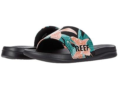 Reef One Slide (Hibiscus) Women