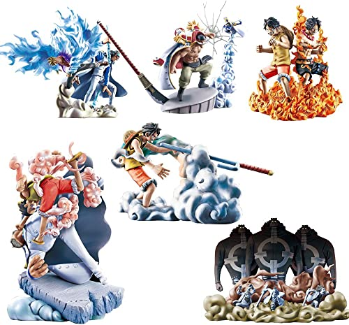One Piece Marineford Logbox figure case [Toy] (japan import)