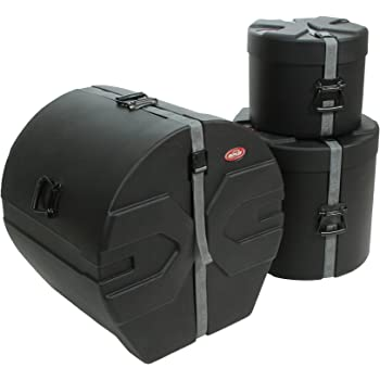 SKB 1SKB-DRP2 Roto-Molded Drum Case Package with D1822, D1012, D1616